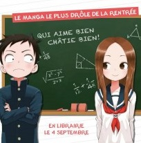 Image - Le manga Quand Takagi me taquine arrive en France