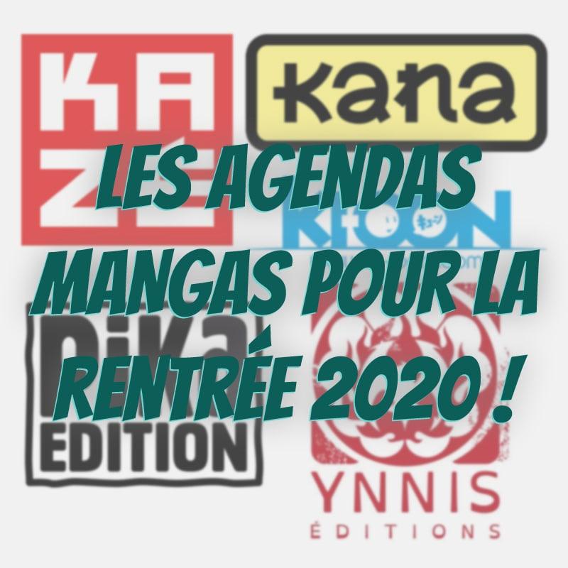 Image - Voici les agendas mangas pour la rentrée 2020 !