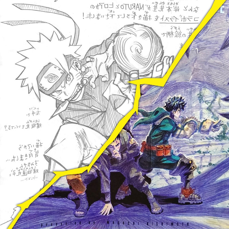 Image - Naruto X My Hero Academia : nouvelles illustrations Crossover !